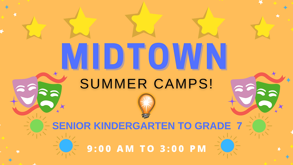 MIDTOWN FULL DAY- Educational Acting Summer Camps