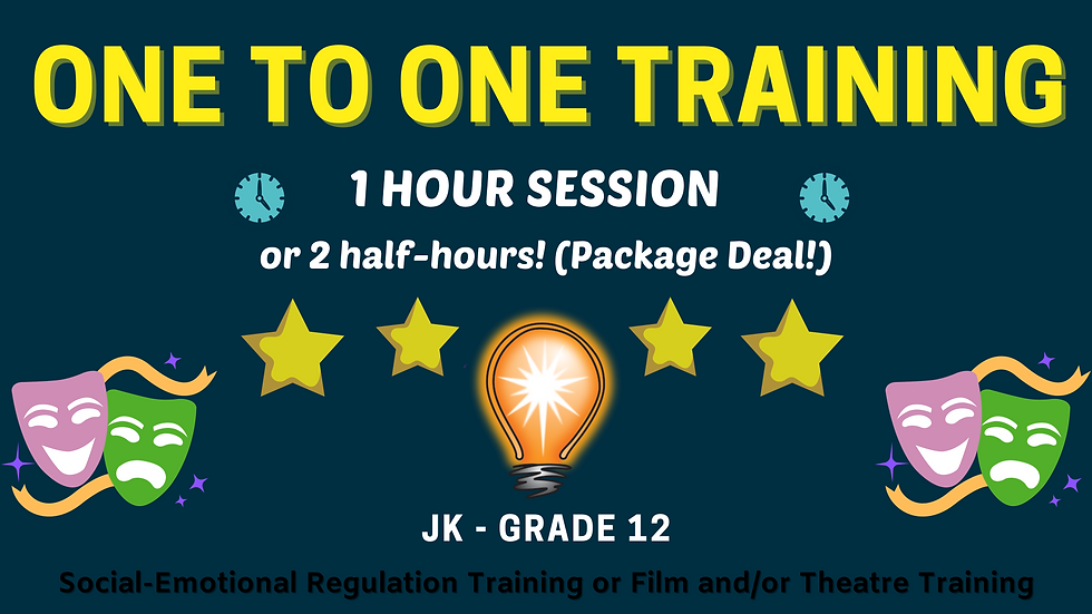 One To One Training Sessions- 1 Hour