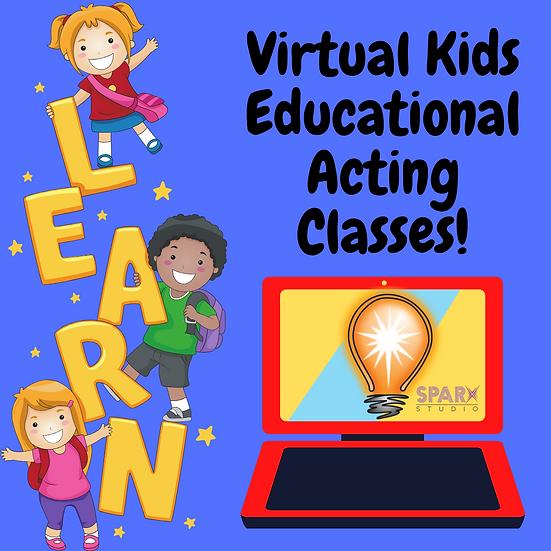 Virtual Educational Acting