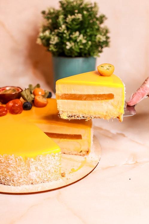 """Муссовый торт """"Манго-маракуйя"""""""