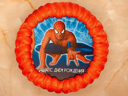 """Детский торт """"Человек-паук"""""""