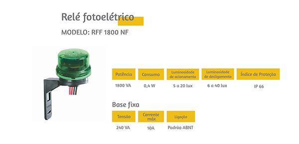 Relé Fotoelétrico. Ótimos preços e condições de pagamento