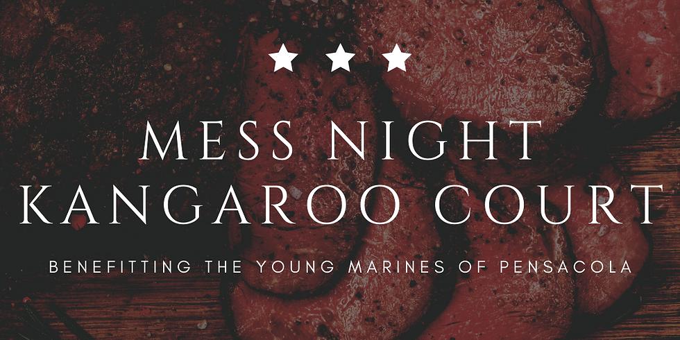 Kangaroo Court Mess Night