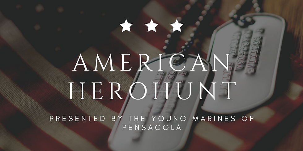 The Young Marines Present HeroHunt