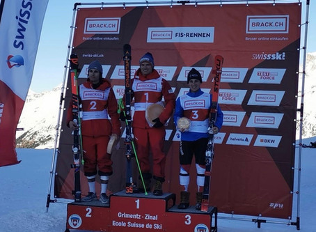 FIS Riesenslalom in Zinal