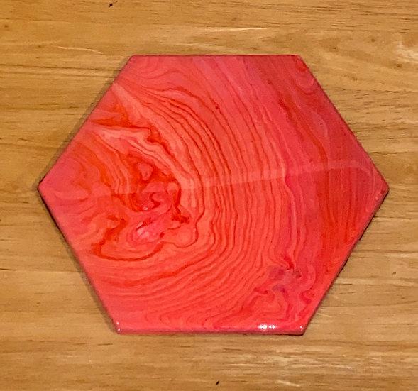 Artisan Tile Trivet - Pink - 9 inch