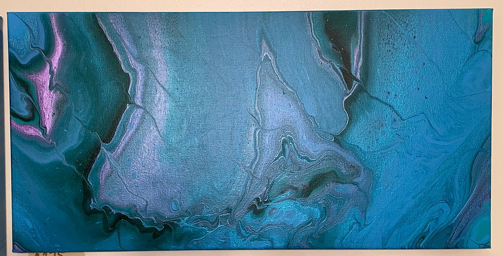 """""""Under the Sea""""  12x24 Latex on Canvas"""