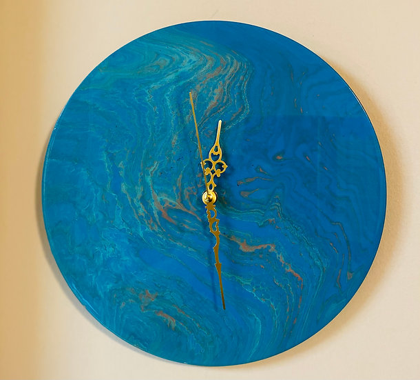 """""""Lost Planet"""" Collection Wall Clock -Batep the Water Planet"""
