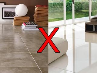 Diferença entre cerâmica e porcelanato