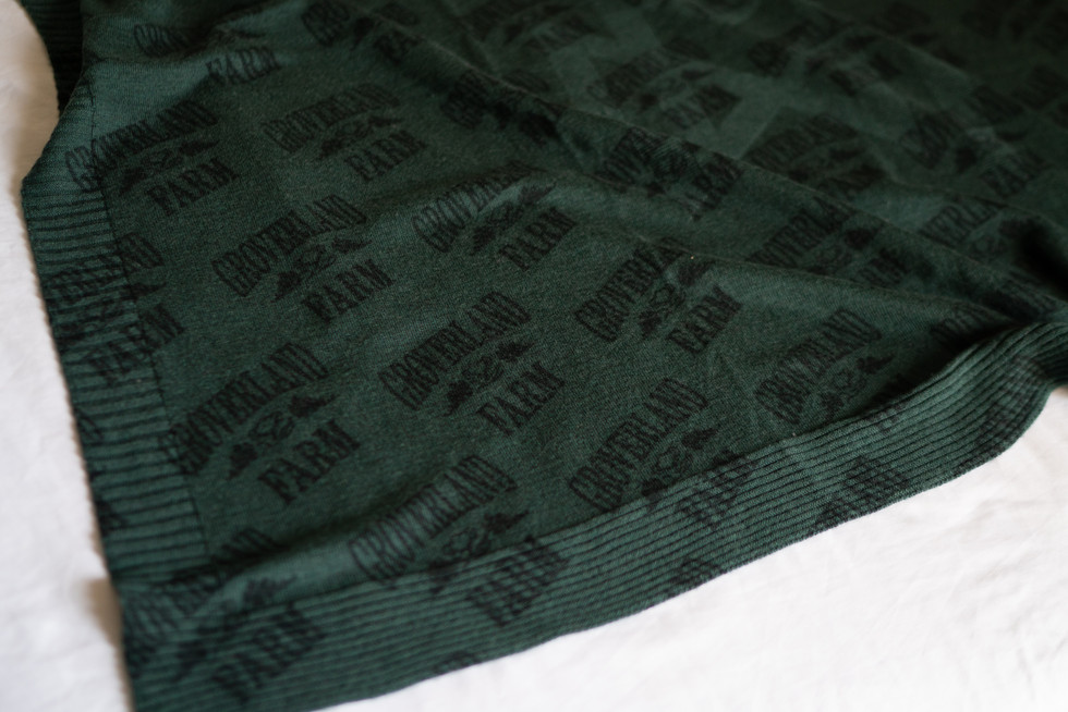 Wool plaid custom print