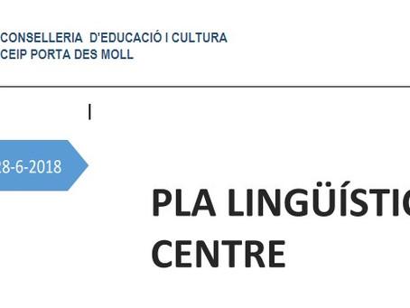 Projecte lingüístic de centre