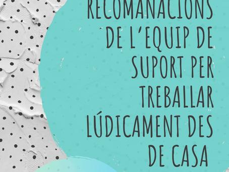 RECURSOS DE SUPORT EDUCATIU