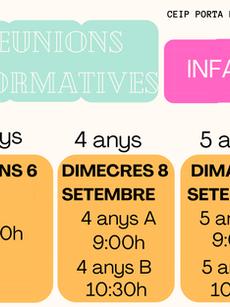 Calendari de reunions inicials