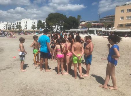 Jornades esportives a la platja