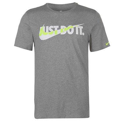 חולצת טריקו נייק | Block Swoosh T Shirt Mens - giantballs.co.il