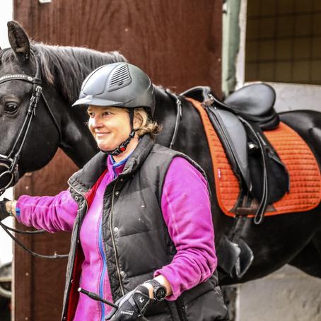 Få ledige plasser i rideskolens Øvet Parti