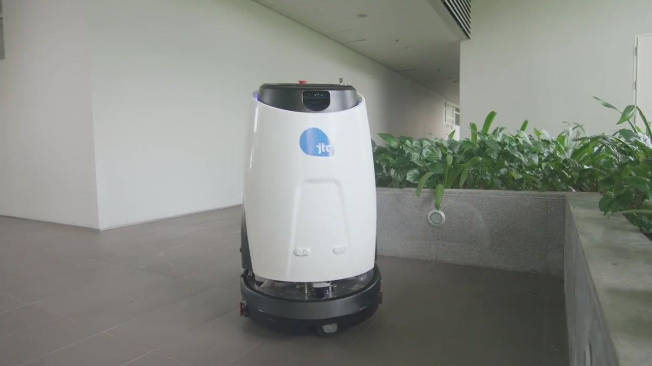 Autonomous Cleaning Robot 50 $1100/month
