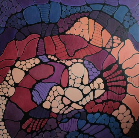 Lijnenspel met diverse materialen