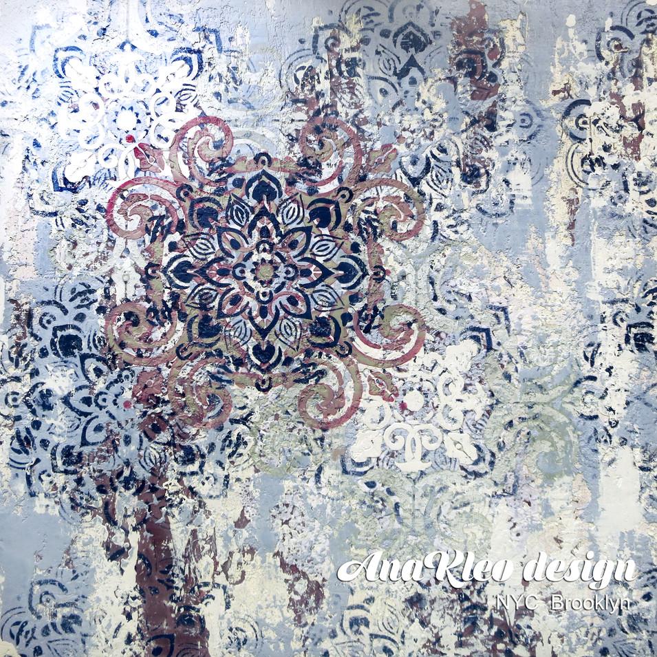 wall design. decor plastering venetiano