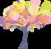 Fantasy floral tree