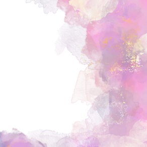 Pink watercolor background PNG
