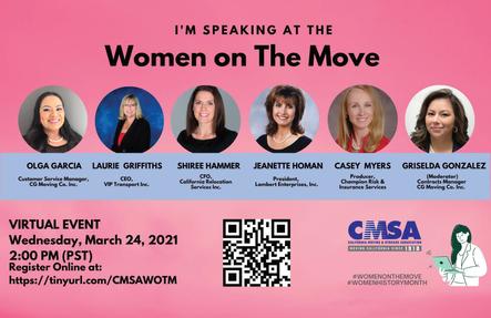 CMSA Women on The Move event Recap!