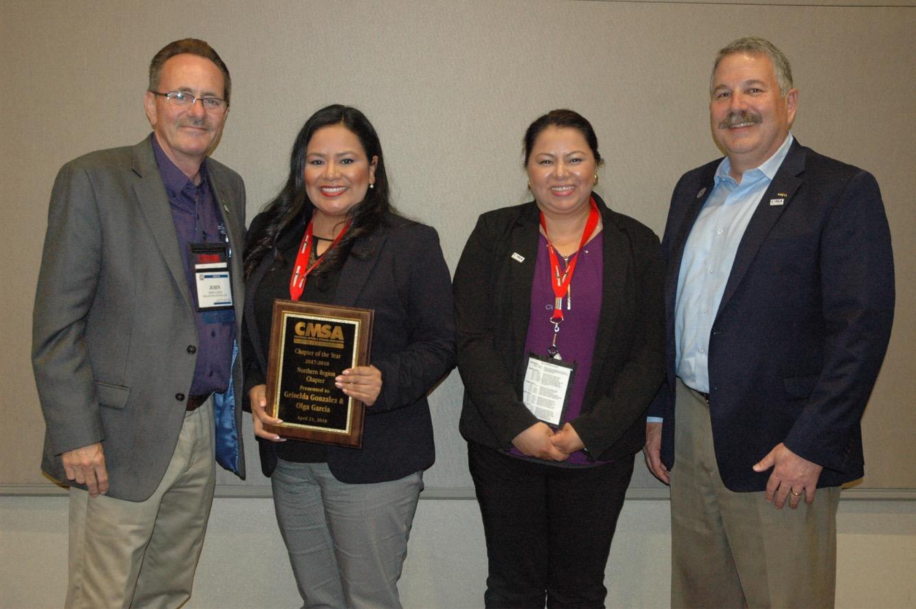 CMSA Chapter of The Year SF Bay Area Northern California Chapter CG Moving Griselda Gonzalez Olga Garcia