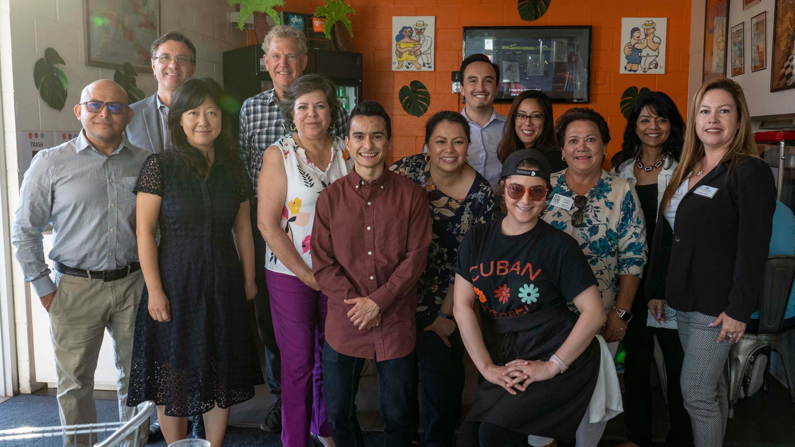 LCC Mixer 8-20-19 at Cuban Kitchen San M