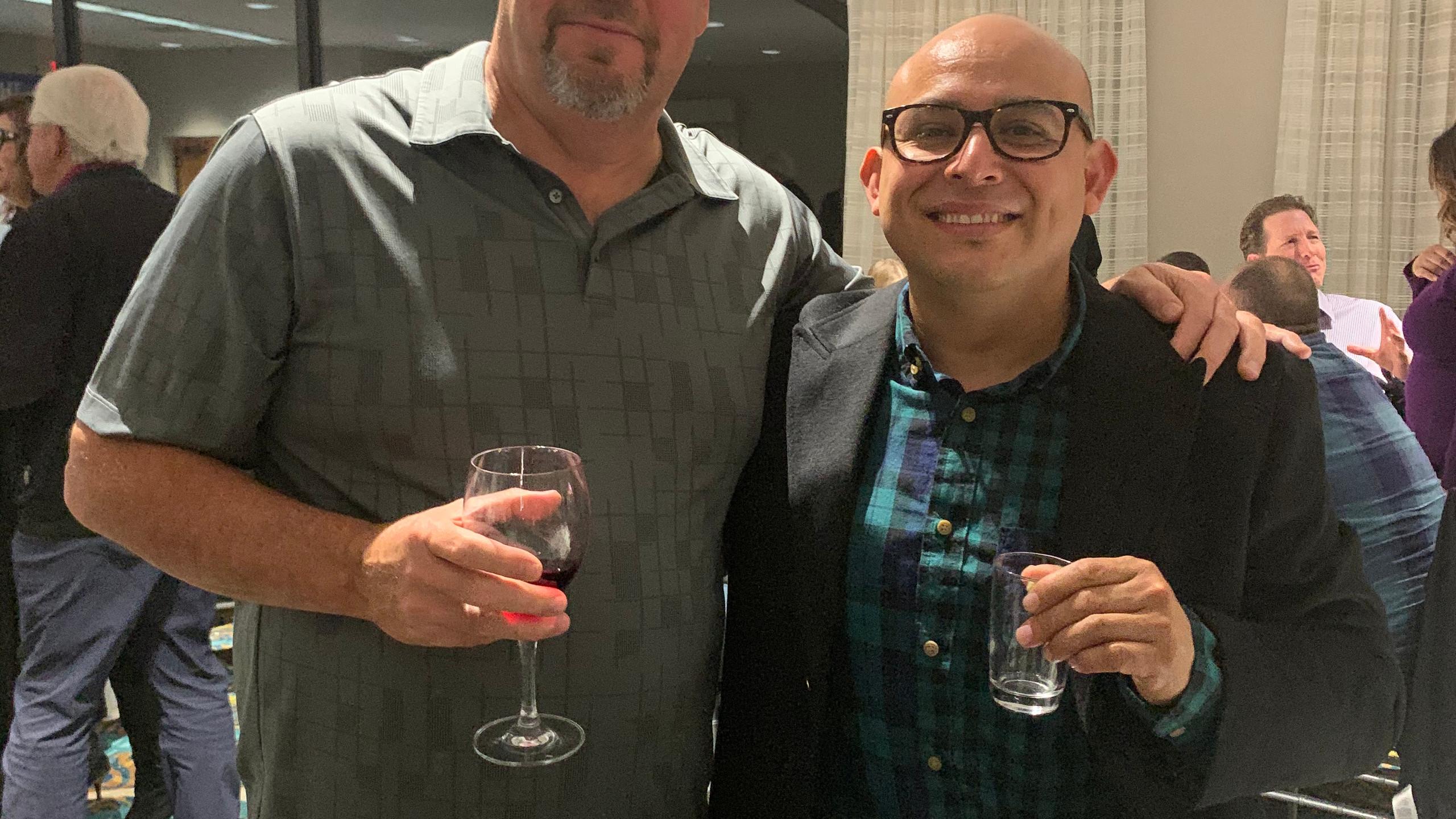 John Kay and Charlie Gonzalez