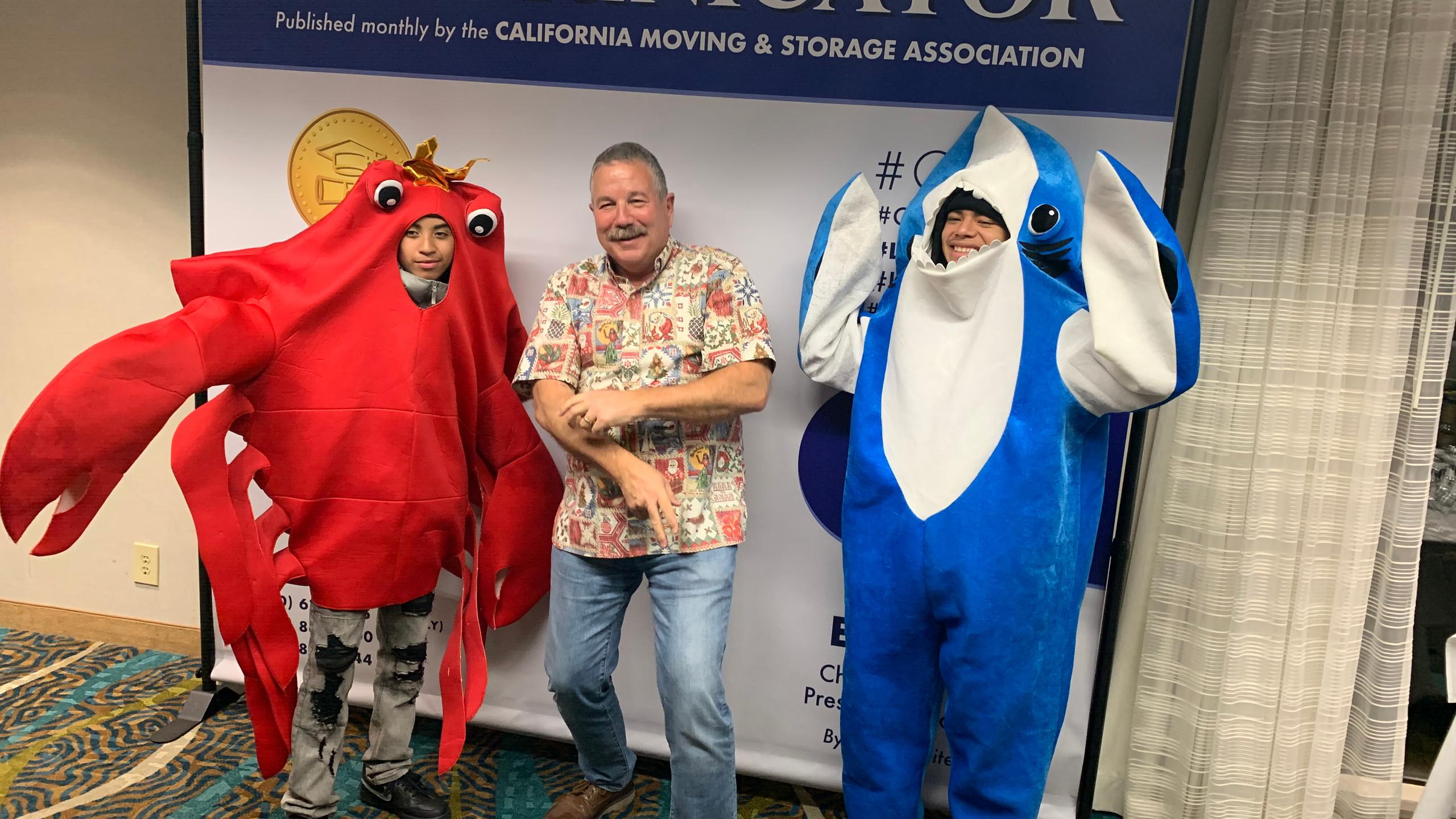 Steve Weitekamp Crab Jr and Baby Shark