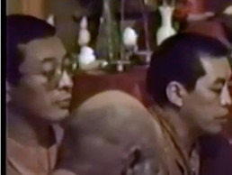 Rinpoche with Kyabje Zong Rinpoche