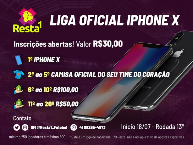 Liga iPhone X