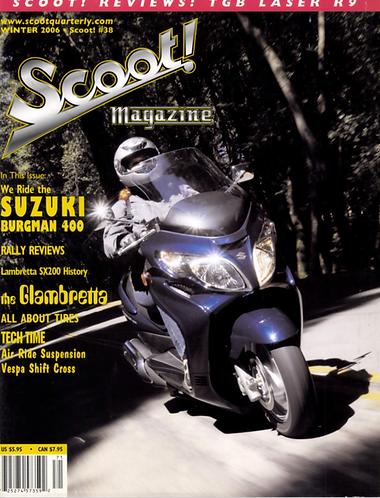 Scoot! Magazine Winter 2006 #38