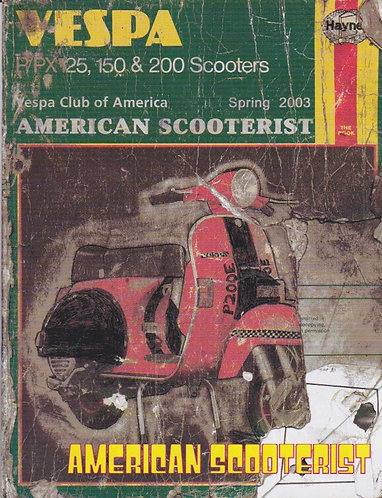 American Scooterist #40 Spring 2003