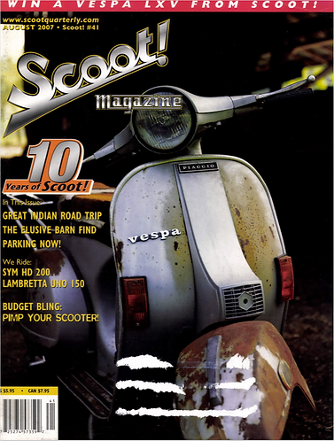 Scoot! Magazine August 2007 #41