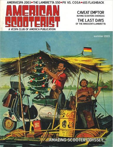 American Scooterist #41 Summer 03 Digital Download
