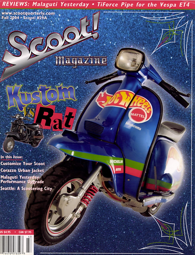 Scoot! Magazine Fall 2004  #29A