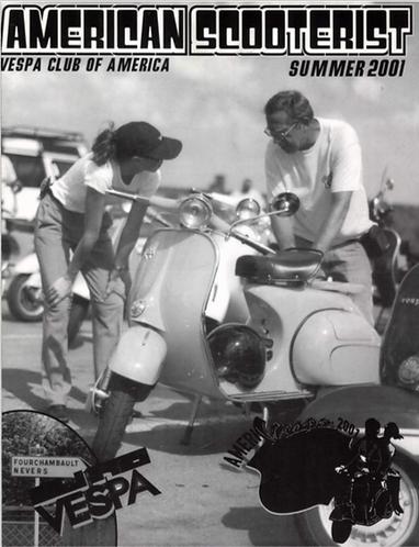American Scooterist #33 Summer 2001