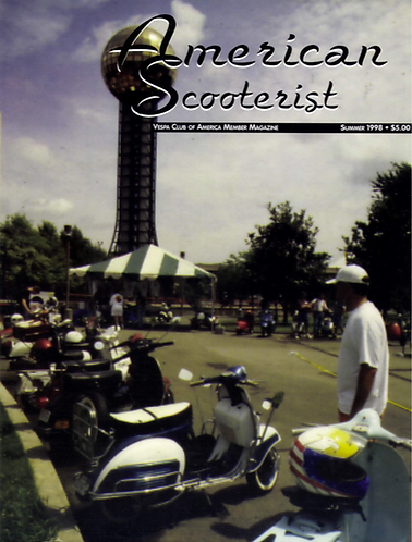 American Scooterist #24 Summer 98