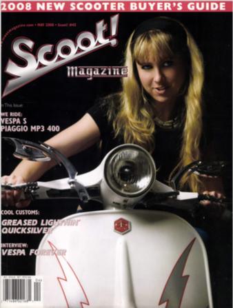 Scoot! Magazine #45 May 2008