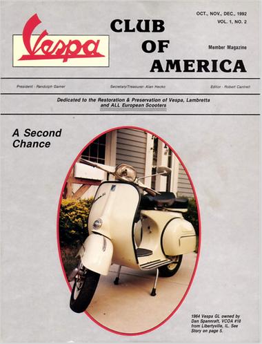 American Scooterist #2 Winter 92