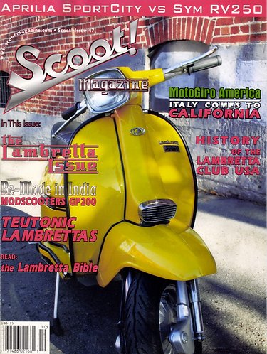 Scoot! Magazine October 2008 #47
