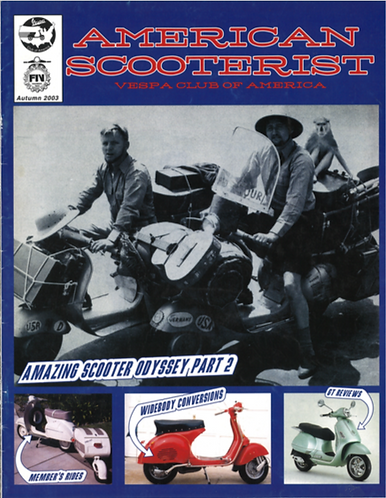American Scooterist #42 Fall 03