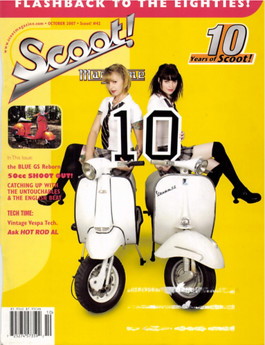 Scoot! Magazine #42 October 2007