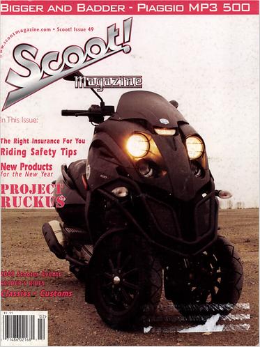 Scoot! Magazine March 2009 #49