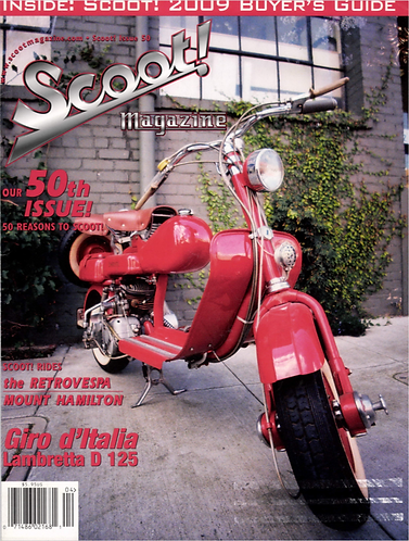 Scoot! Magazine May 2009 #50