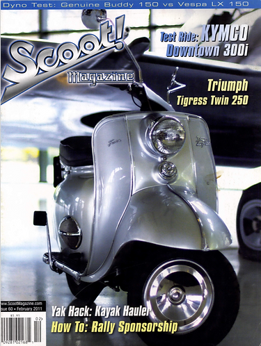 Scoot! Magazine Feb 2011 #60 the final issue
