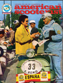 American Scooterist #62 the final issue Summer 2019
