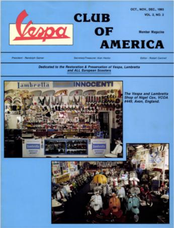 American Scooterist #6 Winter 93