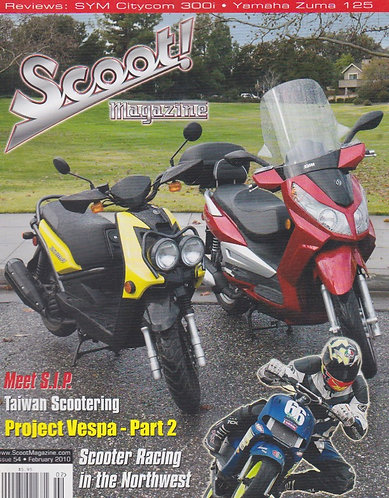 Scoot! Magazine Feb 2010 #54